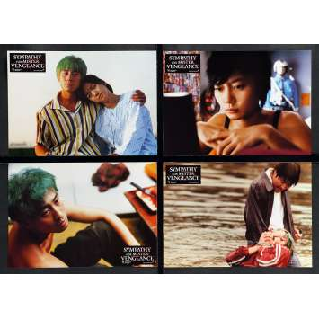 SYMPATHY FOR MR. VENGEANCE Lobby Cards x8 - 10x12 in. - 2002 - Chan-wook Park, Kang-ho Song