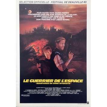 LE GUERRIER DE L'ESPACE Synopsis - 21x30 cm. - 1983 - Peter Strauss, Lamont Johnson