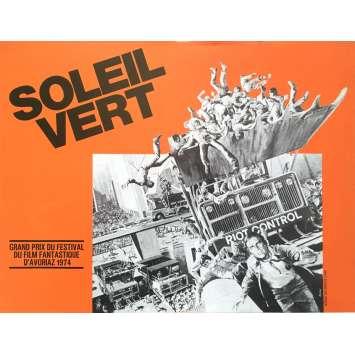 SOLEIL VERT Synopsis - 21x30 cm. - 1973 - Charlton Heston, Richard Fleisher