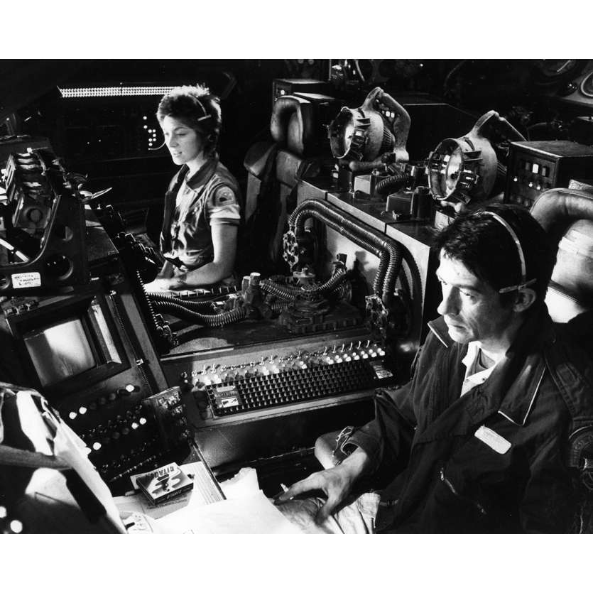 ALIEN Photo de presse - 20x25 cm. - 1979 - Sigourney Weaver, Ridley Scott