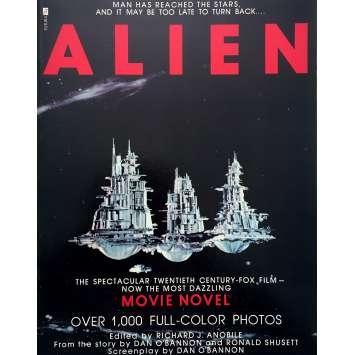 ALIEN Book - 9x12 in. - 1979 - Ridley Scott, Sigourney Weaver