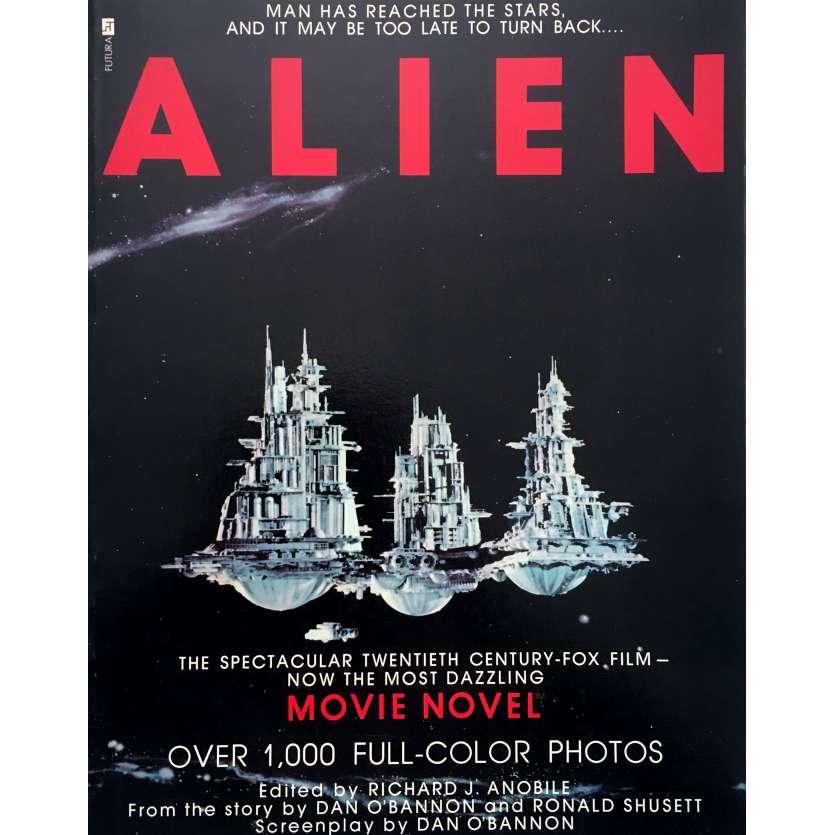 ALIEN Livre - 21x30 cm. - 1979 - Sigourney Weaver, Ridley Scott