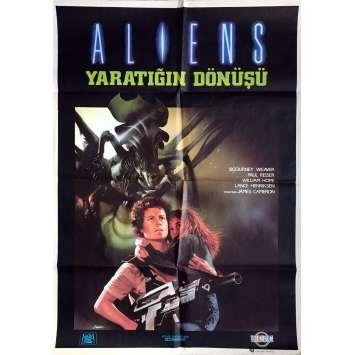 ALIENS Affiche de film - 70x100 cm. - 1986 - Sigourney Weaver, James Cameron
