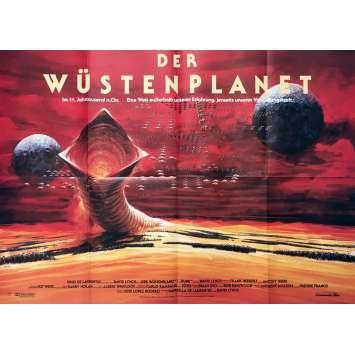DUNE Affiche de film - 85x120 cm. - 1984 - Kyle McLachlan, David Lynch
