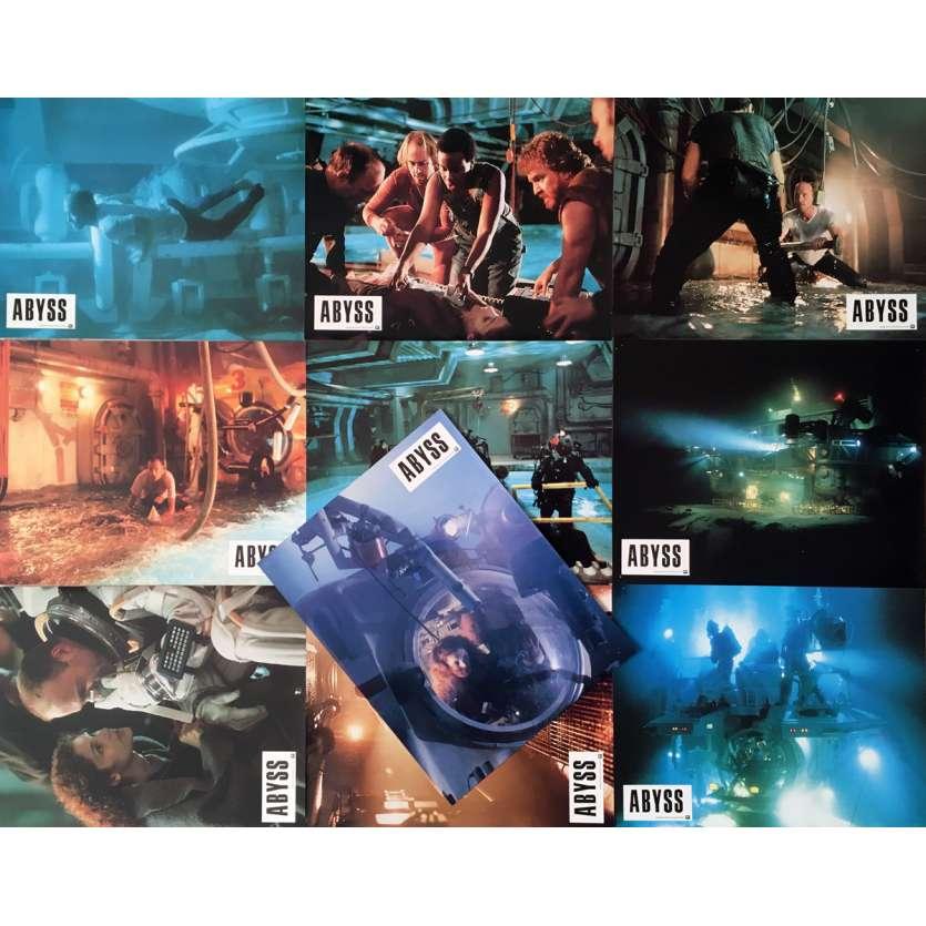 ABYSS Photos de film x10 21x30 cm - 1989 - Ed Harris, James Cameron