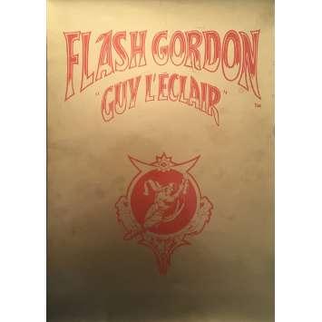 FLASH GORDON Dossier de presse - 21x30 cm. - 1980 - Max Von Sidow, Mike Hodges