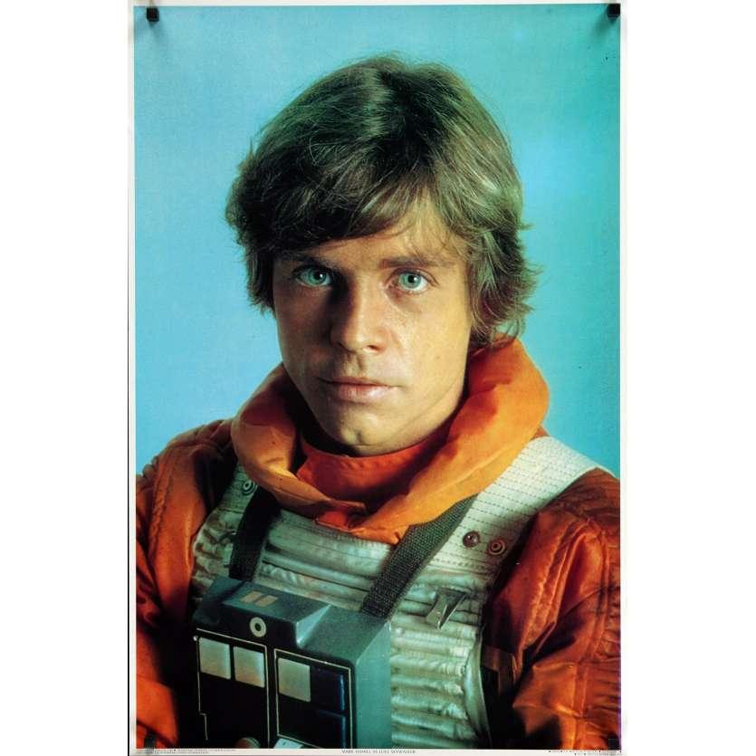 STAR WARS - L'EMPIRE CONTRE ATTAQUE Affiche publicitaire 59x89 - 1980 - Harrison Ford, George Lucas