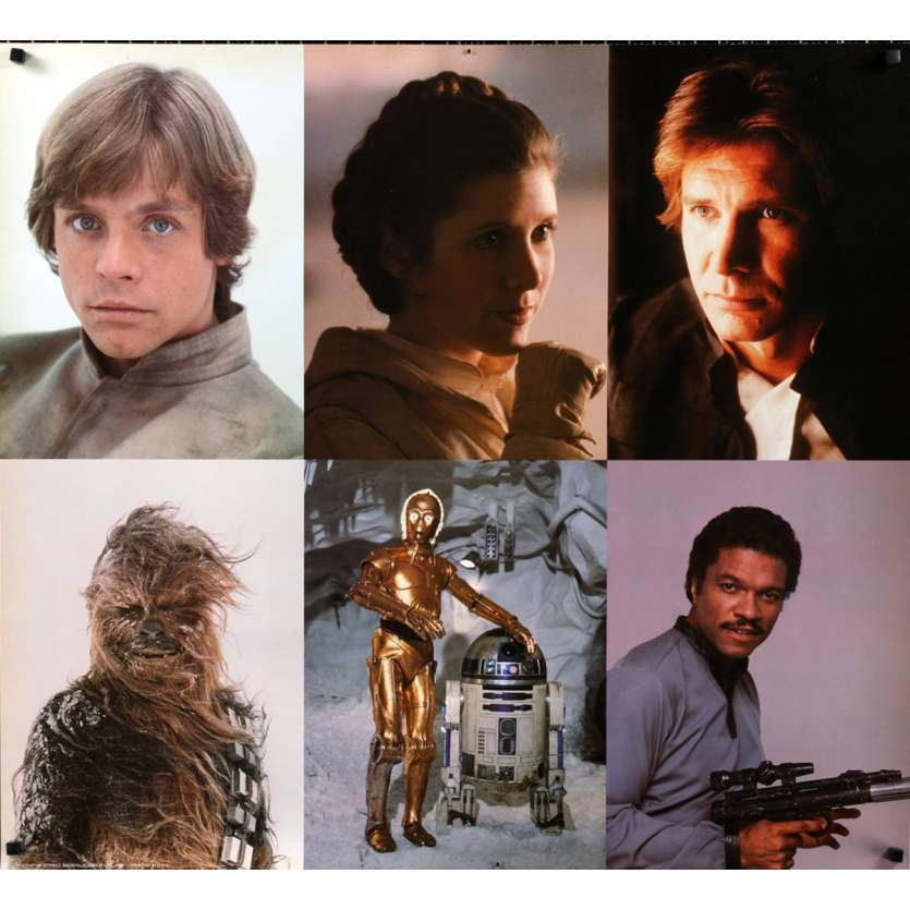 STAR WARS - EMPIRE STRIKES BACK US Special Poster 34x38 - 1980 - George Lucas, Harrison Ford