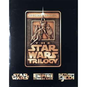 STAR WARS TRILOGIE Presskit x8 - 21x30 cm. - 1997 - Harrison Ford, Carrie Fisher, George Lucas