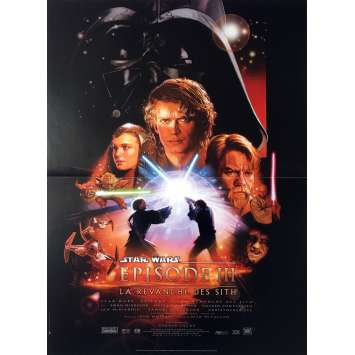 STAR WARS - REVENGE OF THE SITHS Movie Poster - 15x21 in. - 2003 - George Lucas, Harrison Ford