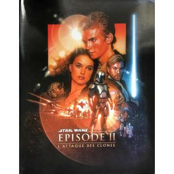 STAR WARS - ATTACK OF THE CLONES Pressbook - 9x12 in. - 2002 - George Lucas, Natalie Portman