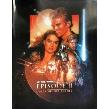 STAR WARS - L'ATTAQUE DES CLONES Dossier de presse - 21x30 cm. - 2002 - Natalie Portman, George Lucas