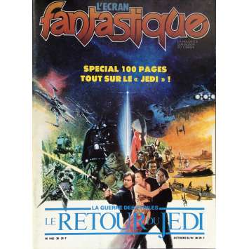 L'ECRAN FANTASTIQUE : THE RETURN OF THE JEDI Magazine N38 - 9x12 in. - 1983 - Dale Pollock, 0