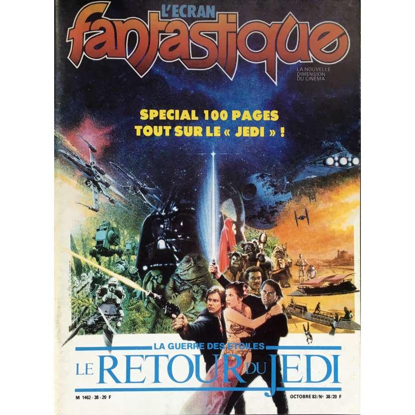 L'ECRAN FANTASTIQUE : THE RETURN OF THE JEDI Magazine N38 - 9x12 in. - 1983 - Dale Pollock, 0