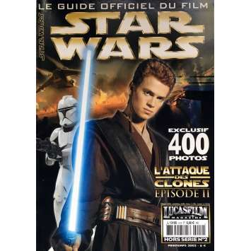 STAR WARS - ATTACK OF THE CLONES Magazine - 9x12 in. - 2002 - George Lucas, Natalie Portman