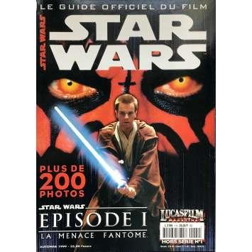 STAR WARS - LA MENACE FANTOME Magazine - 21x30 cm. - 1999 - Ewan McGregor, George Lucas