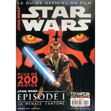 STAR WARS - THE PHANTOM MENACE Magazine - 9x12 in. - 1999 - George Lucas, Ewan McGregor
