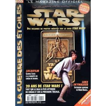 STAR WARS - LA GUERRE DES ETOILES Magazine - 21x30 cm. - 1977 - Harrison Ford, George Lucas