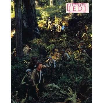 STAR WARS - LE RETOUR DU JEDI Photo de film N04 - 21x30 cm. - 1983 - Harrison Ford, Richard Marquand