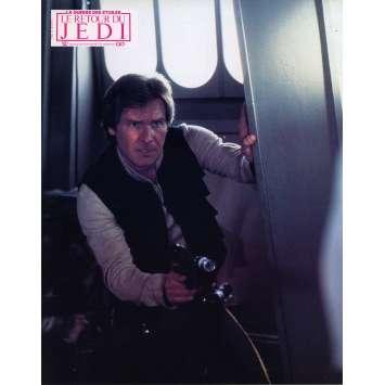 STAR WARS - LE RETOUR DU JEDI Photo de film N06 - 21x30 cm. - 1983 - Harrison Ford, Richard Marquand