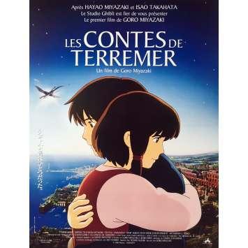 LES CONTES DE TERREMER Affiche de film - 40x60 cm. - 2006 - Hayao Miyazaki, Studio Ghibli