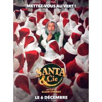 SANTA & CIE Movie Poster Prev. - 15x21 in. - 2017 - Alain Chabat, Golshifteh Farahani