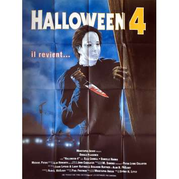 HALLOWEEN 4 Movie Poster - 47x63 in. - 1988 - Dwight H. Little, Donald Pleasance