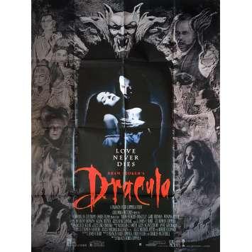 DRACULA Affiche de film - 120x160 cm. - R1990 - Gary Oldman, Winona Ryder, Francis Ford Coppola
