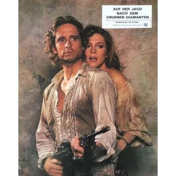 A LA POURSUITE DU DIAMANT VERT Photo de film - 20x30 cm. - 1984 - Michael Douglas, Robert Zemeckis