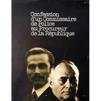 CONFESSION OF A POLICE CAPTAIN Herald - 9x12 in. - 1971 - Damiano Damiani, Franco Nero