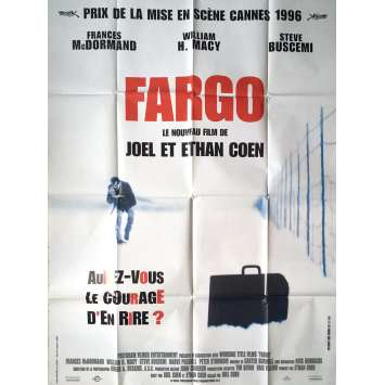 FARGO Affiche de film - 120x160 cm. - 1996 - Frances McDormand, Coen Bros