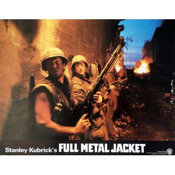 FULL METAL JACKET Lobby Card N07 - 11x14 in. - 1989 - Stanley Kubrick, Matthew Modine
