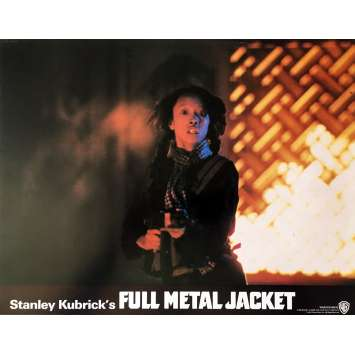 FULL METAL JACKET Lobby Card N08 - 11x14 in. - 1989 - Stanley Kubrick, Matthew Modine