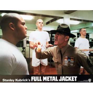 FULL METAL JACKET Lobby Card N09 - 11x14 in. - 1989 - Stanley Kubrick, Matthew Modine