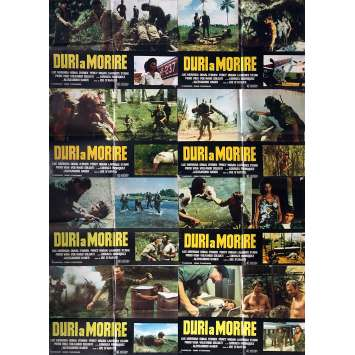 TOUGH TO KILL Photobusta Posters x8 - 18x26 in. - 1979 - Joe D'Amato, Luc Merenda