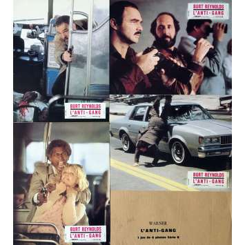 L'ANTI-GANG Photos de film x5 - 21x30 cm. - 1981 - Rachel Ward, Burt Reynolds