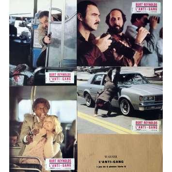 SHARKY'S MACHINE Lobby Cards x5 - 9x12 in. - 1981 - Burt Reynolds, Rachel Ward