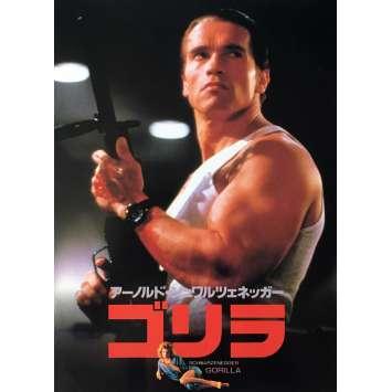 LE CONTRAT Programme - 21x30 cm. - 1986 - Arnold Schwarzenegger, John Irvin