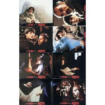 LE NOM DE LA ROSE Photos de film x14, Prestige - 21x30 cm. - 1987 - Sean Connery, Jean-Jacques Annaud
