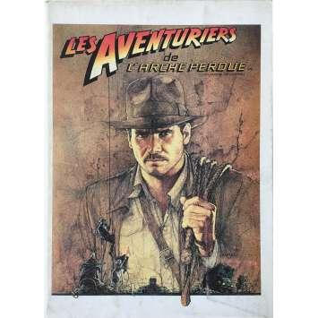 LES AVENTURIERS DE L'ARCHE PERDUE Programme - 21x30 cm. - 1981 - Harrison Ford, Steven Spielberg