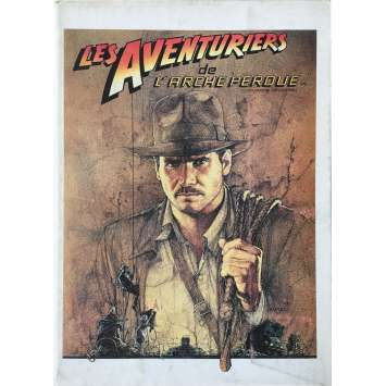 RAIDERS OF THE LOST ARK Program - 9x12 in. - 1981 - Steven Spielberg, Harrison Ford