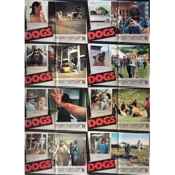 DOGS Photobusta Posters x8 - 18x26 in. - 1976 - Burt Brinckerhoff, David McCallum