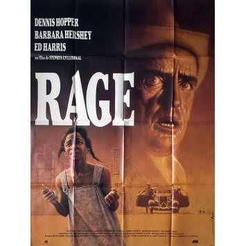 RAGE - PARIS TROUT Affiche de film - 120x160 cm. - 1991 - Dennis Hopper, Stephen Gyllenhaal