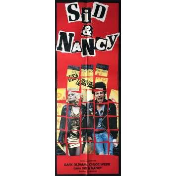 SID ET NANCY Affiche de film - 60x160 cm. - 1986 - Gary Oldman, Alex Cox