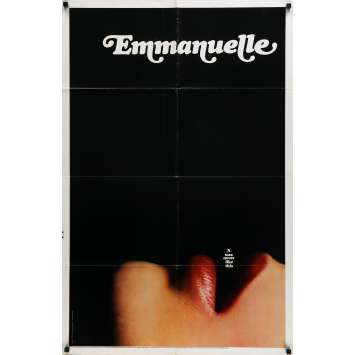 EMMANUELLE Sylvia Krystel Original US 1sh movie poster '75
