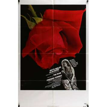THE ROSE Affiche de film 69x104 - 1979 - Bette Midler, Mark Rydell