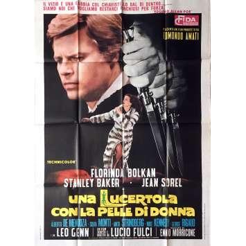 LE VENIN DE LA PEUR / UNA LUCERTOLA Affiche de film - 100x140 cm. - 1971 - Florinda Bolkan, Lucio Fulci