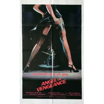 MS.45 / ANGEL OF VENGEANCE Movie Poster - 29x41 in. - 1981 - Abel Ferrara, Zoë Lund