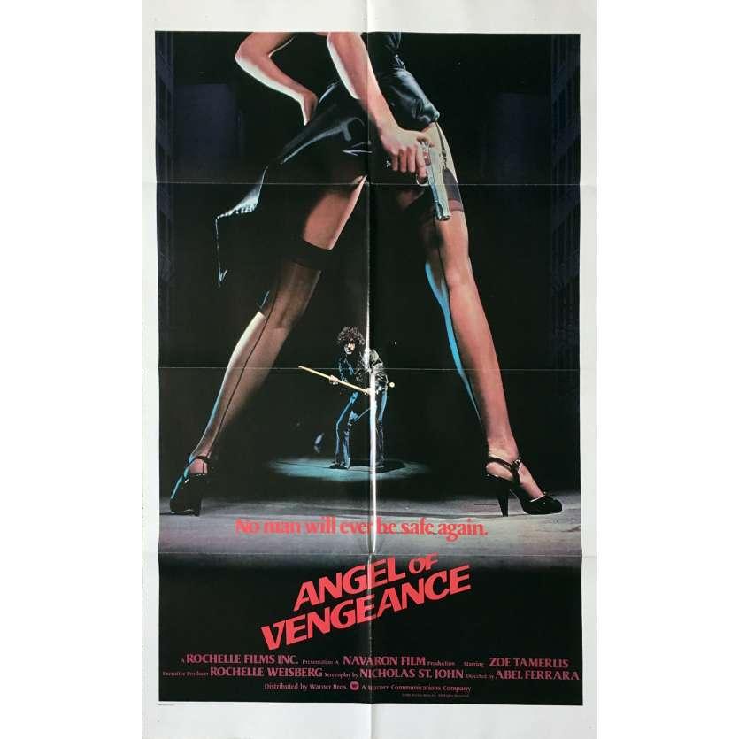 L'ANGE DE LA VENGEANCE Affiche de film - 69x104 cm. - 1981 - Zoë Lund, Abel Ferrara