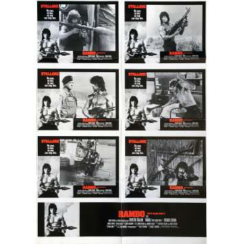 RAMBO II Affiche de film - 70x102 cm. - 1985 - Sylvester Stallone, George P. Cosmatos